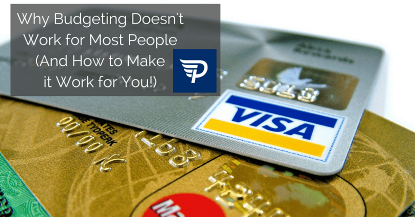 Visa card example of why budgeting doesn't work