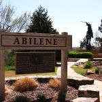 Abilene Plaza sign