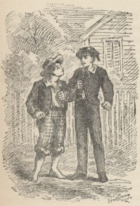 Tom Sawyer, fictional hooligan