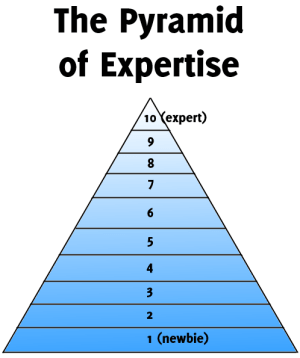 The Pyramid of Expertise