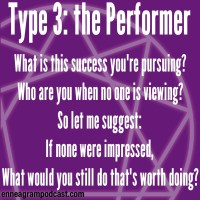 What is this success you're pursuing? Who are you when no one is viewing? So let me suggest: If none were impressed, What would you still do that's worth doing?