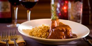 The Famous Osso Buco.