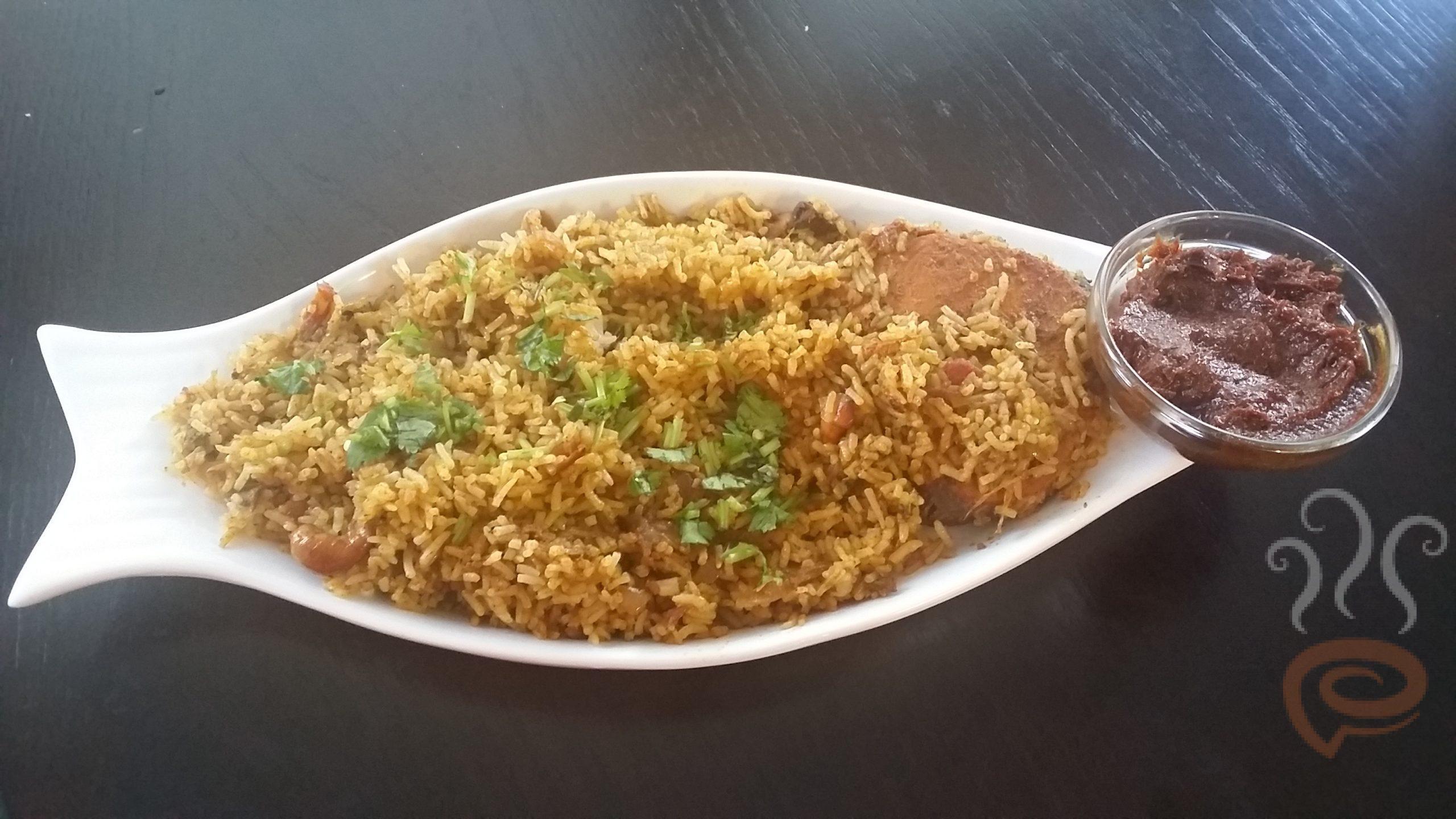 Fish Biriyani   Meen Biryani
