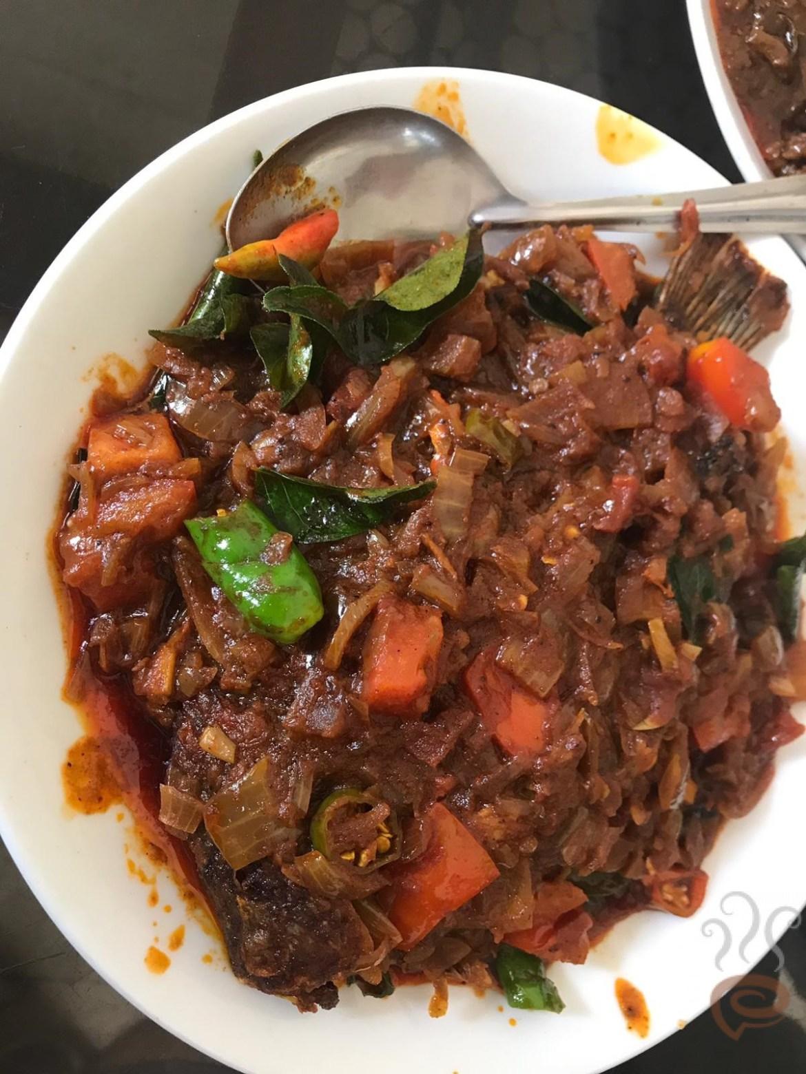 Karimeen Masala Recipe Kerala