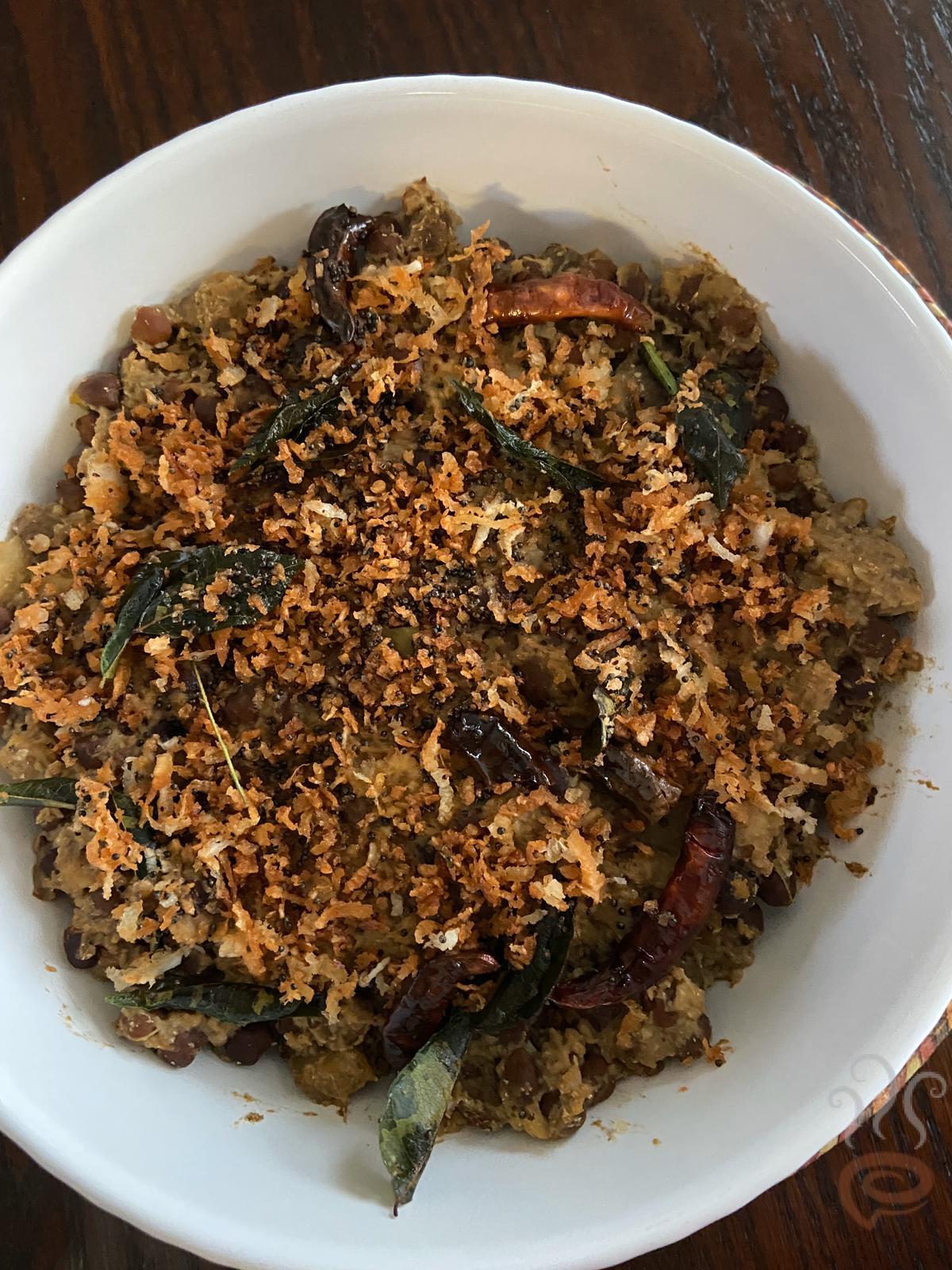 Kootu Curry | Kadala And Chena Kootu Curry