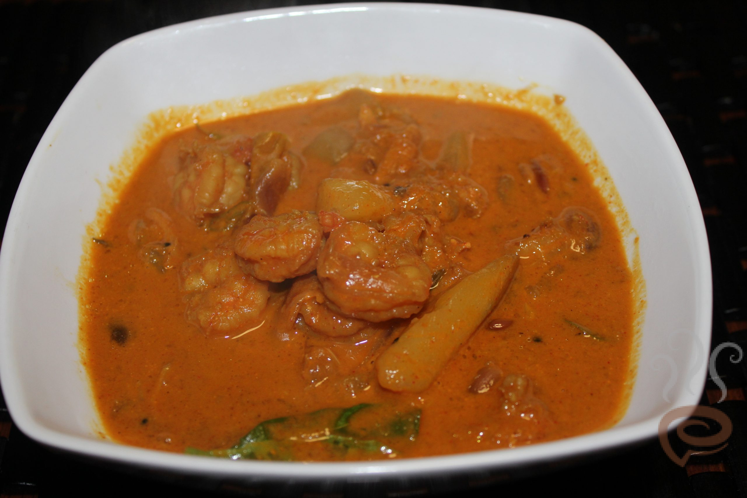Prawn and Mango Curry Kerala