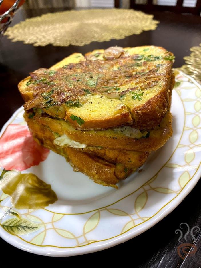 Kerala Bread Omelette