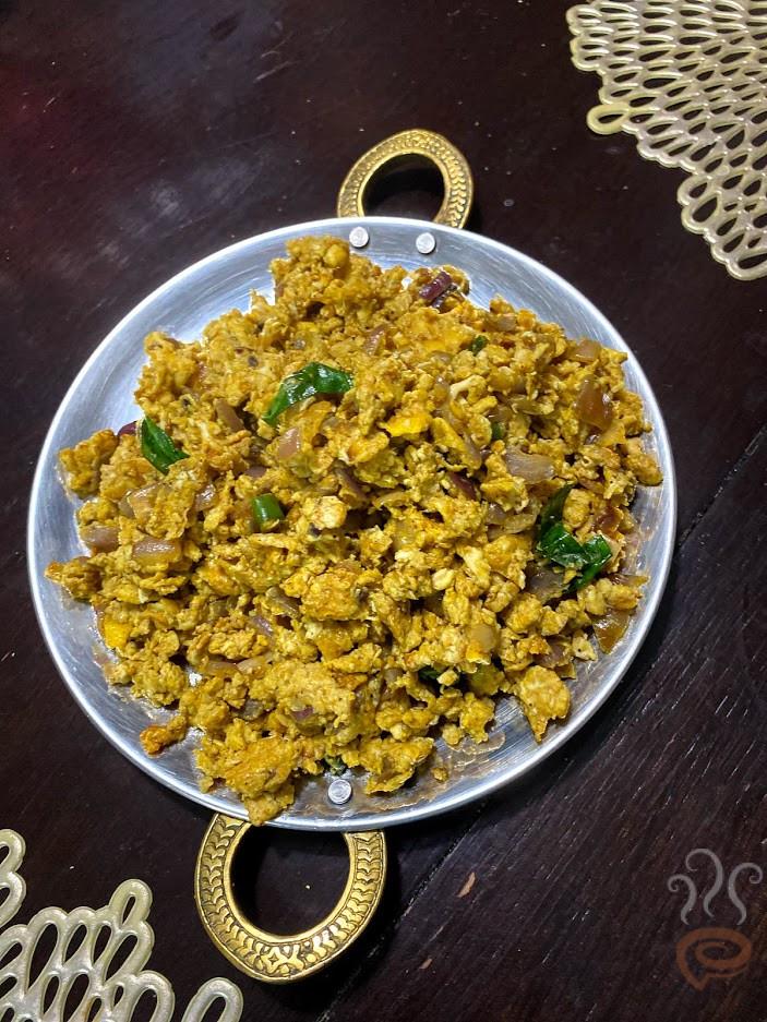 Kerala Egg Bhurji - Burji