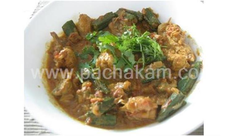 Chicken And Okra Curry