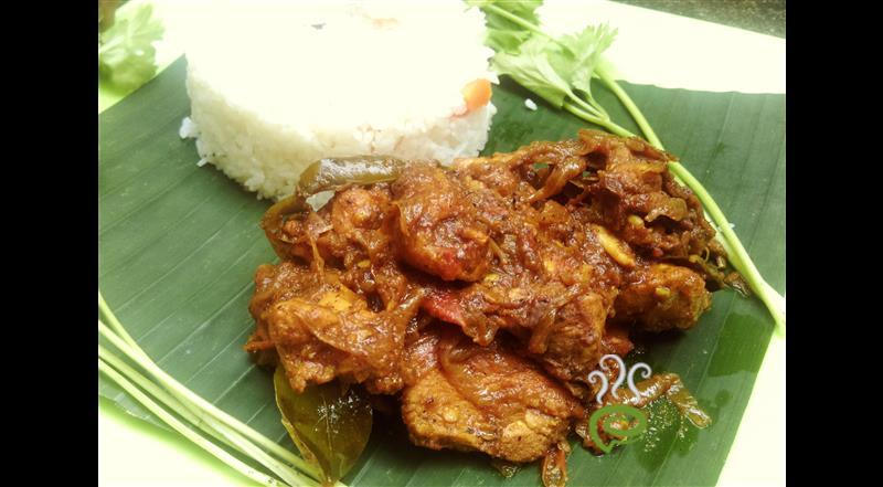 Kerala Spicy Pepper Chicken