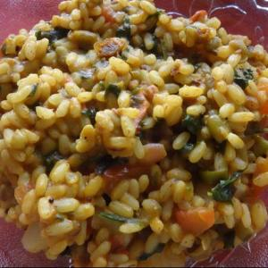 Spinach Brown Rice
