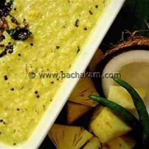 Pineapple Pachadi – Sweet Dish