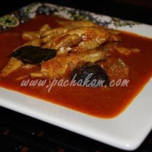 Spicy Fresh Anchovy Curry