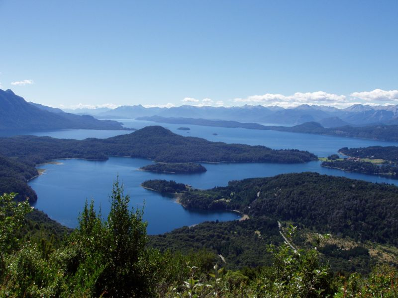 Lac Nahuel huapi Bariloche Argentine