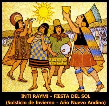 La fête du soleil inca