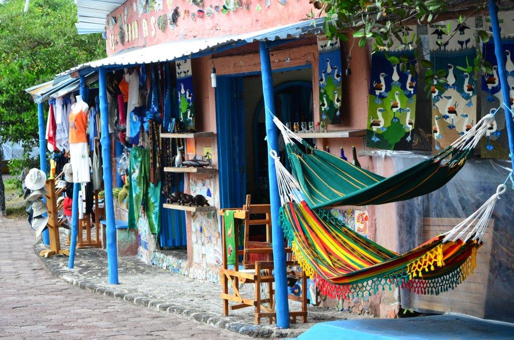 Boutique de souvenirs à Puerto Ayora