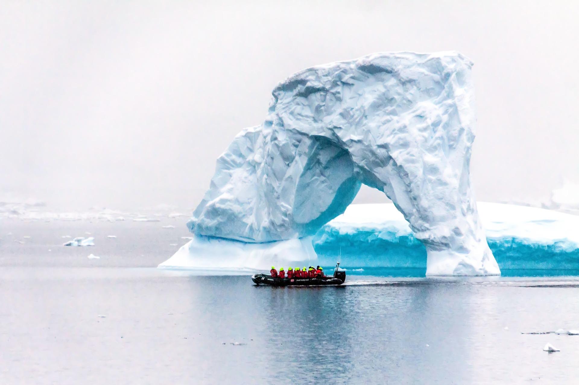 Bateau polaire en Antarctique