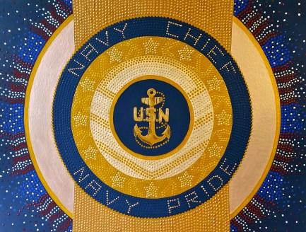 Navy Mandala