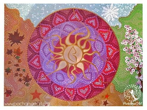 Sun of the four seasons