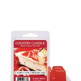 Country Candle Candy Cane Cheesecake Wosk Zapachowy 64g