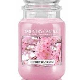 Country Candle CHERRY BLOSSOM Duża Świeca Zapachowa 652g