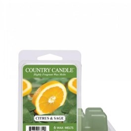 Country Candle Citrus and Sage Wosk zapachowy 64g
