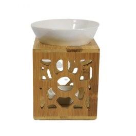 Kominek do wosków: Bambusowy wzór