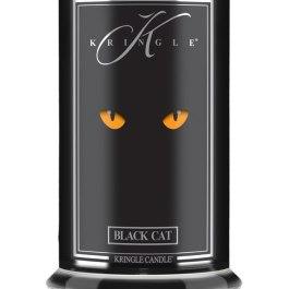 KRINGLE CANDLE Black Cat Duża Świeca 623g