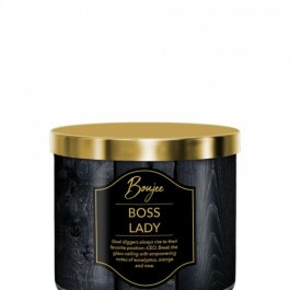 KRINGLE CANDLE Boss Lady Boujee Tumbler 411g z 3 knotami