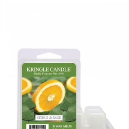 Kringle Candle Citrus and Sage Wosk zapachowy 64g