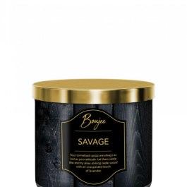 Kringle Candle Savage Boujee Tumbler 411g z 3 knotami