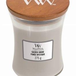 WoodWick SACRED SMOKE Mała Świeca 85g