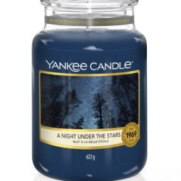 Yankee Candle A NIGHT UNDER THE STARS Duża Świeca Zapachowa 623g