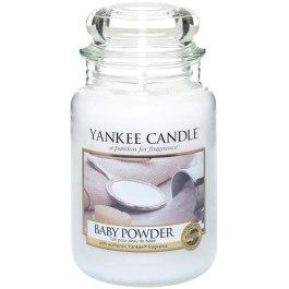 Yankee Candle BABY POWDER Duża Świeca Zapachowa 623g