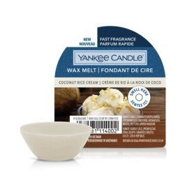 Yankee Candle COCONUT RICE CREAM Wosk Zapachowy 22g