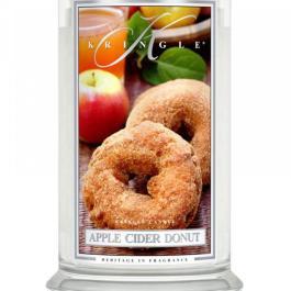 KRINGLE CANDLE Apple Cider Donut Duża Świeca 623g