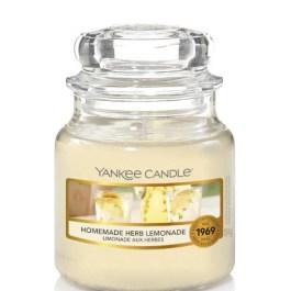 Yankee Candle HOMEMADE HERB LEMONADE Mała Świeca Zapachowa 104g