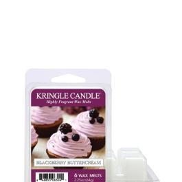Kringle Candle BLACKBERRY BUTTERCREAM Wosk zapachowy 64g