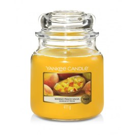 Yankee Candle Mango Peach Salsa Średnia Świeca Zapachowa 411g (Kopia)