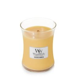 WoodWick SEASIDE MIMOSA Średnia Świeca Zapachowa
