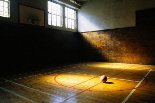 Image result for practicing basketball alone