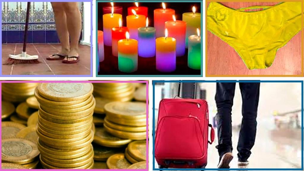 Los rituales para el Año Nuevo ¿Cuál aplicarás?