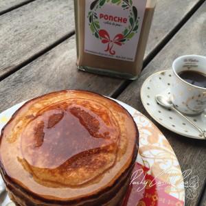 Pancakes de ponche de nutella  Pachy Castillo Pou