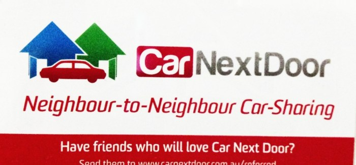 CarNextDoor turns idle time into income