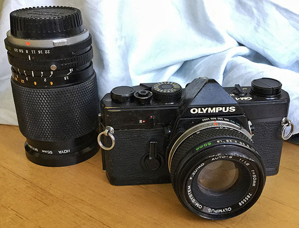The OM1 — a photographic tool for the mountain walker