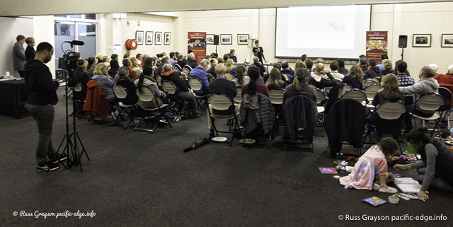 Forum attracts an audience despite the weather