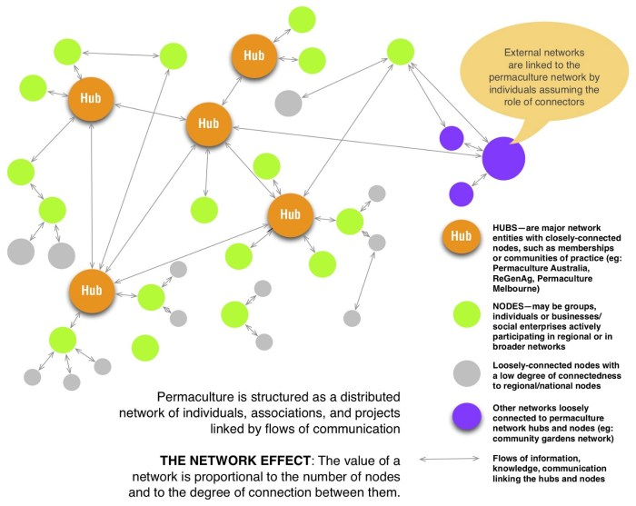 THE STRUCTURE OF PERMACULTURE — understanding the network