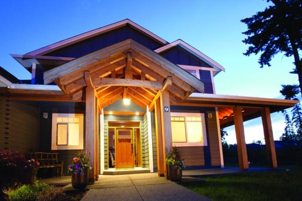Hybrid Timber Frame Homes
