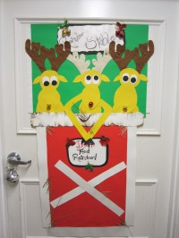 2nd Annual Guardian Angel Christmas Door Decorating
