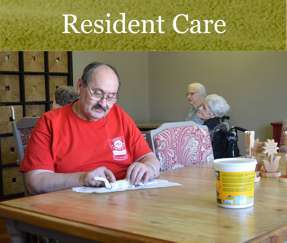 Skilled nursing care at Pacific Care Center